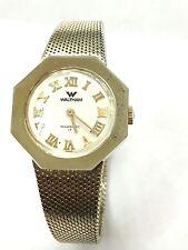 Vintage WALTHAM 17 Jewels Swiss Elegant Gold Tone  Wrist Watch(WAL-17SS)