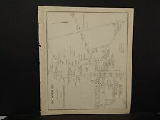 New Hampshire, Grafton County Map, Bethlehem, Dbl. Pg. Reversible 1892 L4#06