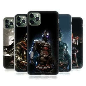 OFFICIAL BATMAN: ARKHAM KNIGHT CHARACTERS SOFT GEL CASE FOR APPLE iPHONE PHONES