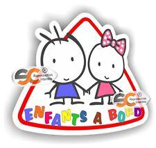 Enfants à Bord - Enfant Bébé Sticker Autocollant Sécurité