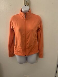 Champion Women's Coral Long Sleeve Zip-Up Athletics Workout Jacket Size X-Small