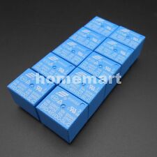 10PCS NEW SONGLE Power Relay SRD PCB 5 Pins BLUE DC 48V SRD-48VDC-SL-C SPDT Coil