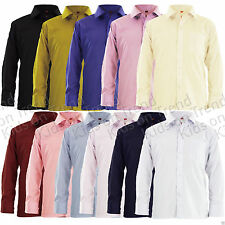 Unbranded Long Sleeve Casual Shirts (2-16 Years) for Boys