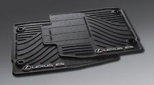 GENUINE 2016, 2017, 2018 LEXUS ES350/ES300h All Weather Floor Mats, Mat, Black