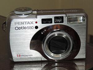 Pentax Opti 550 Digital Camera