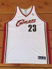 RARE🔥 Reebok NBA Cleveland Cavalier LeBron James Sewn Authentic Jersey 56 CAVS