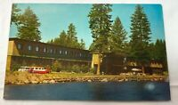 Shore Lodge McCall ID Souvenir Postcard Unposted Payette Lakes