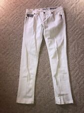 Miss Me Womens Signature Skinny Jeans Size 30 Embellished Flap Pockets