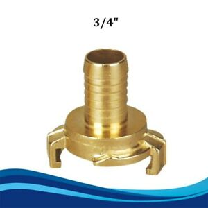 Brass Quick Connect Water Fittings Claw Couplings Tap Connectors Accessory