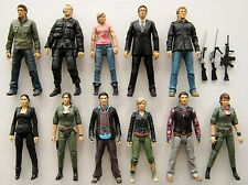 PRIMEVAL DINOSAUR TV SERIES 11 MIXED LOT BUNDLE TOY ACTION FIGURES ABBY MAITLAND