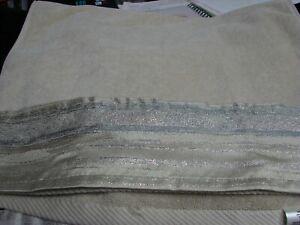 Croscill Hand Towel Taupe Darian light Blue Beige