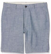 "Lee Men's Chino Short Regular,Blue (Chambray)RRP£55 30"" (0002)"