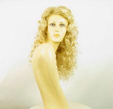 Perruque femme mi-longue blond doré méché blond très clair meredith 24BT613