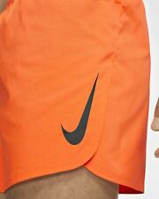 "Men Nike Aeroswift Running Racing Shorts Orange 2"" AQ5257-803 08 msrp $80"