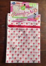 Disney Xl Minnie Laundry Washing Net for Lingerie Shirts 55cm x 45cm Polka Dots