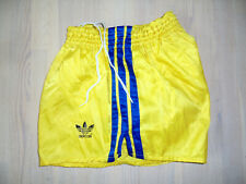 german vintage 70s Adidas shorts Sprinter Nylon 70er Jahre glanz shiny 5 / M