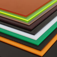 New A2 A3 A4 A5 A6 Acrylic Perspex Sheet Cut to Size Panel Plastic Satin Gloss