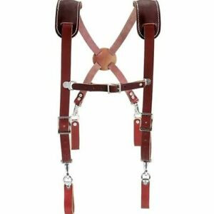 Occidental Leather 5009 Leather Work Suspenders USA