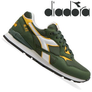 DIADORA N.92 ADVANCE Mens Casual Shoes Trainers Sneakers Lace Up Lifestyle Shoes