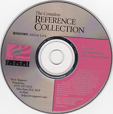 Compton's-The Complete Reference Collection-Cd/Rom for Windows-Free Shipping