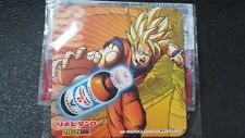 Dragonball × Lipovitan D Super Saiya Paper Coaster Not sold in store Japan