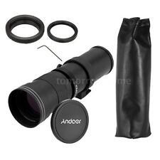 420-800mm F/8.3-16 Super Telephoto Lens + T Mount for Canon EOS DSLR Camera A2J6