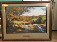 Evening Shadows by Larry Dyke Limited Edition Artist Proof Print Framed Matted