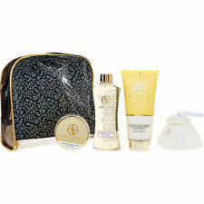 Adrienne Vittadini Honey & Almond Cosmetic Set( IDEAL GIFT)