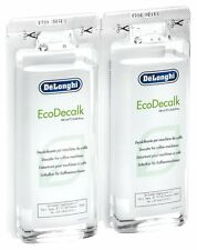Delonghi Descaler EcoDecalk Mini-Packed with Two Convenient 100ml Single Doses