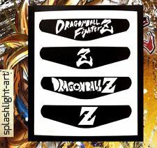 PS4 Controller Light bar 4x Dragon Ball FighterZ vinyl Decal sticker Dragonball
