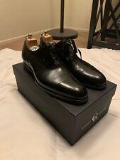 Gaziano & Girling Sz 9UK/9.5US Black Calfskin Oxford GG06 Last RETAIL $1395 WORN