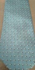 Cravatta YVES SAINT LAURENT - originale - vintage - azzurra - bellissima
