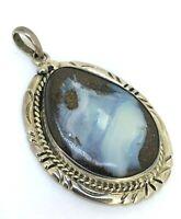 Opal Anhänger  Opal-Boulder  925er Silber   UNIKAT - Handarbeit