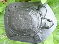 Turtle plaque plastic mold concrete plaster mould