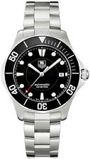 WAB2010.BA0804 Tag Heuer Aquaracer Swiss Automatic SUBMARINER Black Dial Watch