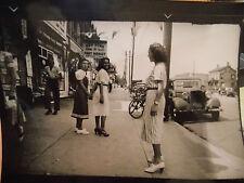 1936 SEXY Flatbush Av South frm Av N Flatlands Brooklyn NYC New York City Photo!