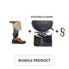 BUNDLE Fobus Model GL43ND A Ankle Holster For Glock 43 New Design! Free Shipping