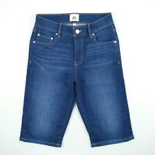 Just Jeans Stacey Long Bermuda High Rise Mid Length Stretch Denim Shorts Size 6