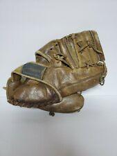 Vintage Leather J.C. Higgins Baseball Glove Great Decorative Piece