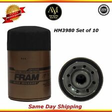 HM3980 Oil Filter Set of 10 For: Chevrolet GMC G3500 4.3L 5.0L 5.7L