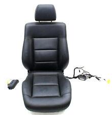 Mercedes W212 E-Klasse Sitz Sitzpolster Leder schwarz Vorne Links mit Airbag