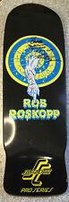 Rare Autograph By Rob Roskopp Santa Cruz Pro Series Skateboard. New