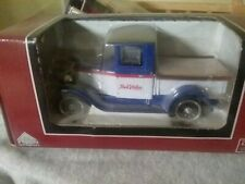 Liberty Classic 1928 chevy truck. national ab. 1:25 diecast bank