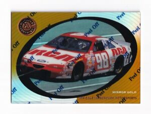 1997 Pinnacle Certified MIRROR GOLD #63 John Andretti's Car SUPER SCARCE