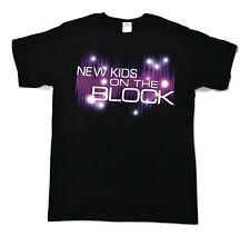 Mens Unisex New Kids On The Block NKOTB Concert Tour 2-Sided Shirt New M