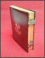 (1858) GRUEL & ENGELMANN ⚜ CLASPED ⚜ Illustrated Engravings Missal Bible Roman