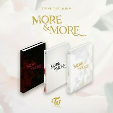 "K-POP TWICE Album ""MORE & MORE"" [ 3Photobook + 3CD ] SET"