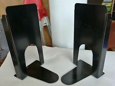 "Twenty 20 Pair Bear Hug Library Bookends 9"" Heavy Duty w/cork pad, Library Used"