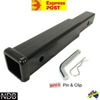 """17"""" Inch Hitch Extender Extension Tow Bar Trailer 4WD Vehicle 2"""" EXPRESS & WNTY"""