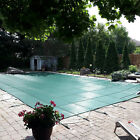 VEVOR Pool Safety Cover Inground Pool Cover 22x32ft, Rectangle Safety Pool Cover